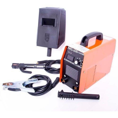 Soldadora Electrodos 200Amp 110Volts Careta Cables