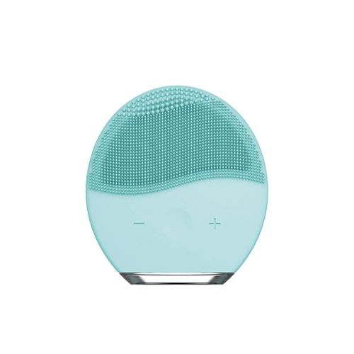 Cepillo Limpiador Facial con Silicona Higiénica - Zeta - Blue