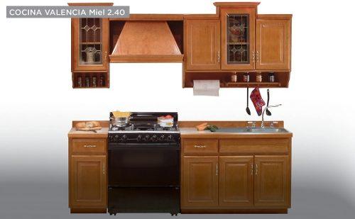 Cocina Modelo Valencia 2.40 - Miel