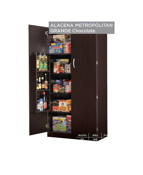 Alacena Metropolitan Grande - Chocolate