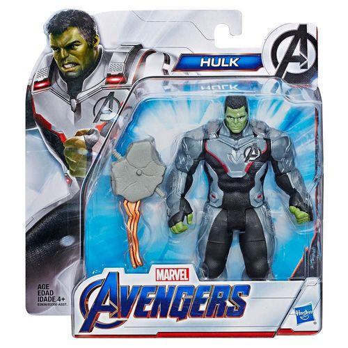 "Figura Hasbro Deluxe Avengers Hulk 6"" E3938"