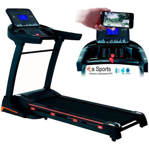Caminadora Eléctrica Profesional 3.5 HP Gym Pantalla LCD Bluetooth Pulso Cardiaco