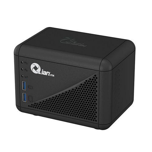 Regulador Qian de voltaje automatico, 1000va, salida 108-132v, 8 contactos (en1000)