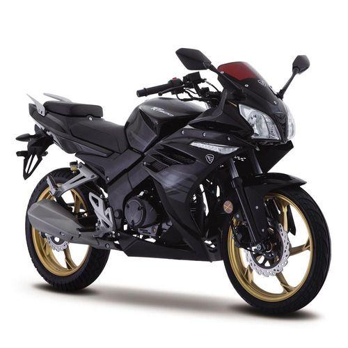 Motocicleta Deportiva Italika RT200 Negra