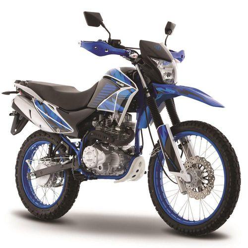 Motocicleta Doble Propósito Italika DM250 Azul