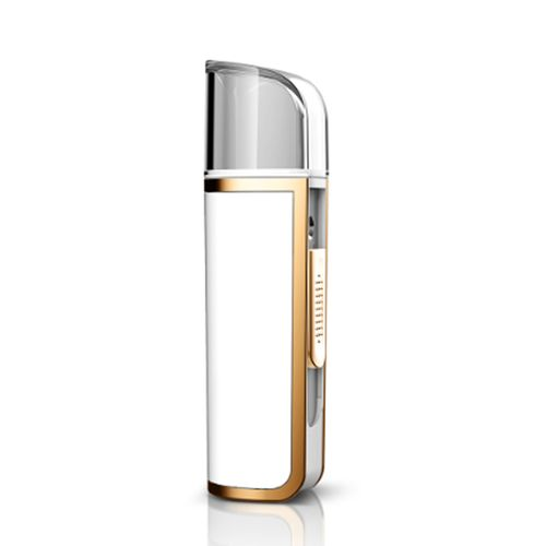 Nano spray humidificador facial con luz y powerbank - Zeta - Blanco