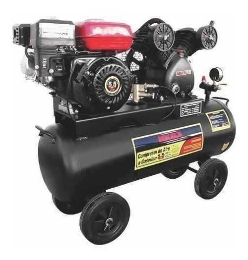 Compresor Aire Con Motor A Gasolina 5.5hp 60l Mikels