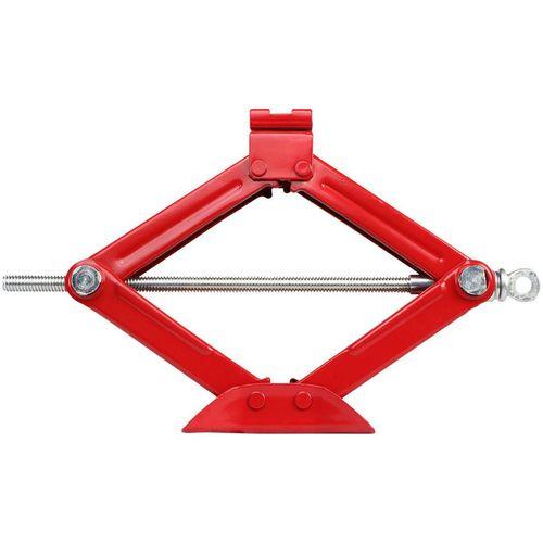 Gato Mecanico Tijera 800 kg Gris - Rojo