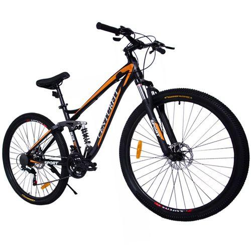 Bicicleta Aluminio R29 Montaña 21 Velocidades Shimano Amortiguador Profesional