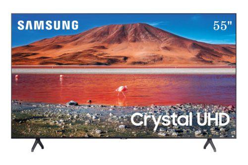 Pantalla LED Samsung 55 Pulgadas 4K Smart UN55TU7000F
