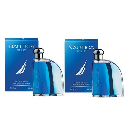 Paq 2X1 Nautica Blue 100 ml Edt Spray de Nautica
