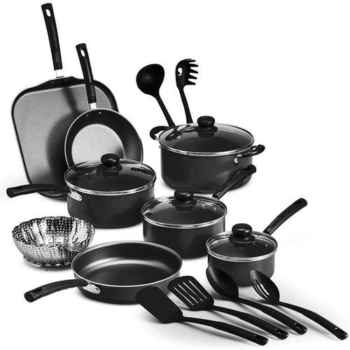 Bateria de Cocina Primaware 18 Piezas Color Negro Tramontina