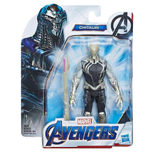 Figura de Acción Avengers Villano Chitauri E3935