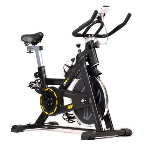 Bicicleta Fija Spinning 8kg Banda/monitor/sensores Pulso