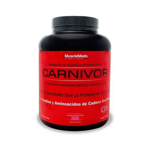 Proteína Carnivor MuscleMeds 4.5Lbs Fresa