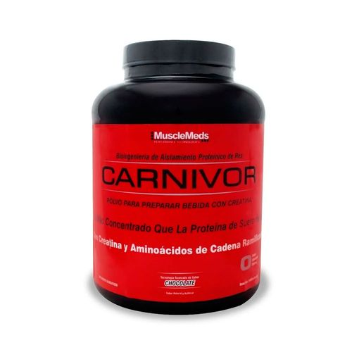 Proteína Carnivor MuscleMeds 4.5Lbs Chocolate