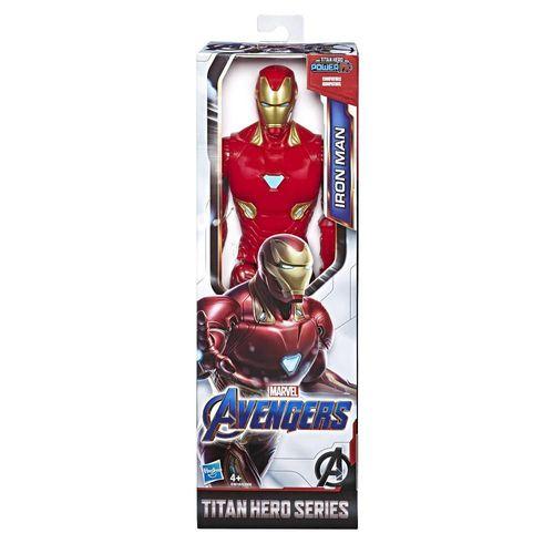 Figura de Acción Titan Hero Iron Man Marvel E3918