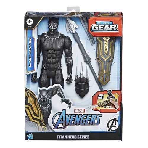 Figura de Acción Titan Hero Black Panther Marvel E7388