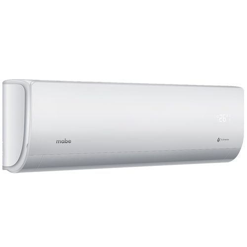 Minisplit Inverter Mabe Frio Calor 220 V 12000 BTUs Blanco MMI12HDBWCAM9