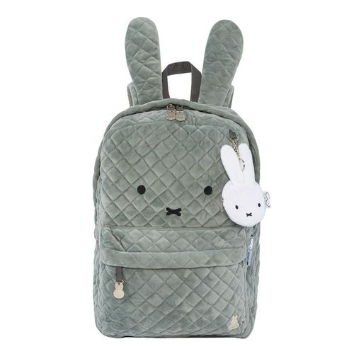 "Mochila Escolar Miffy BP157MF03A 17"" Gris"