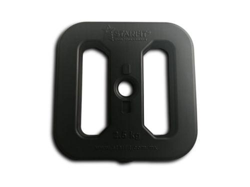 Disco De Peso 1.0kg, Diseño Exclusivo, P/ Barra De 1 Pulgada