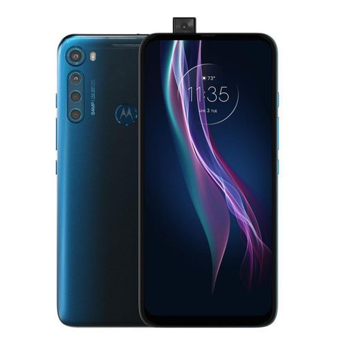 Motorola Moto One Fusion Plus 128GB Desbloqueado - Azul Blackout