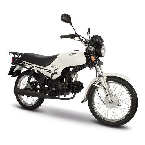 Motocicleta de Trabajo Italika DT110 Delivery Blanca