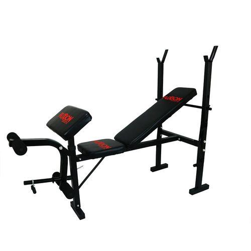 Banca de pesas para pecho, brazo y pierna Fuxion Sports HW402(E)