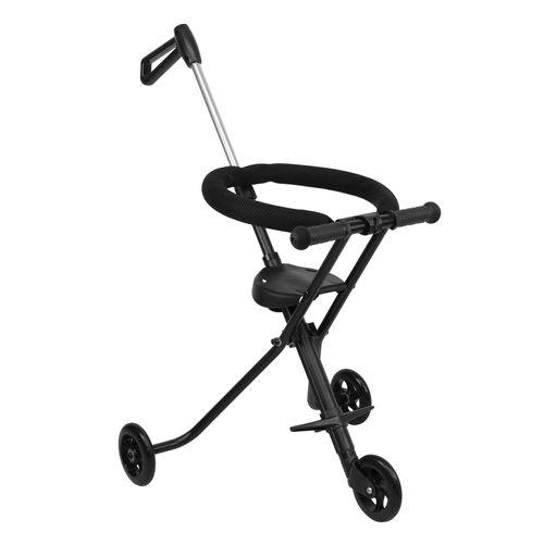 Baby Scooter Portatil Triciclo Plegable Aro Seguridad 3 Rueda