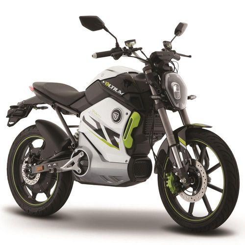 Motocicleta Eléctrica Italika Voltium Gravity Blanco con Verde