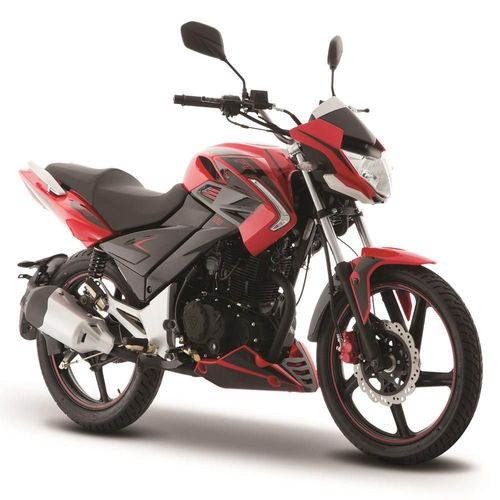 Motocicleta de Trabajo Italika FT250 TS Rojo con Negro