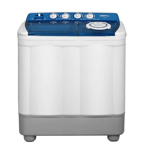 Lavadora de 2 Tinas HKPRO THK-SM13015 13Kg Blanco con Azul