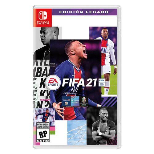 FIFA 21 Edición Legado Nintendo Switch