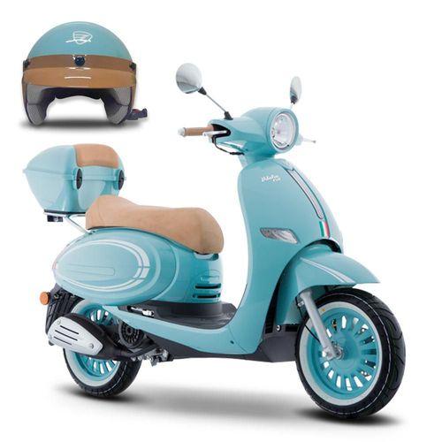 Motoneta Italika Vitalia 150 Azul con Blanco
