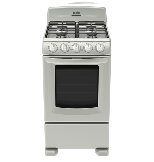 """Estufa EM5030BAIS0 20"""" 50CM Silver Mabe -Ort"""