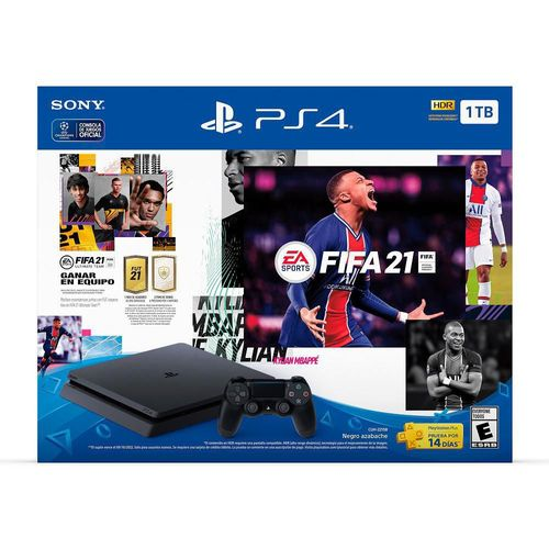 Consola PS4 FIFA 21 1TB