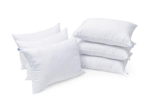 Set de 6 Almohadas Estandar Almoda Microgel Hotelera Premium