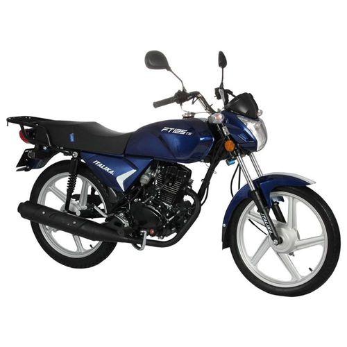 Motocicleta de Trabajo Italika FT125TS Azul