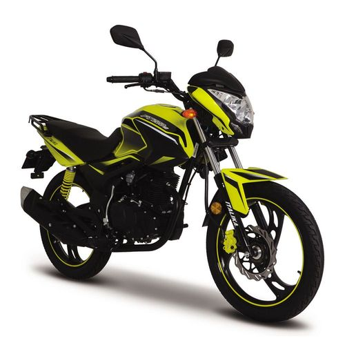Motocicleta de Trabajo Italika FT200 TS Amarilla con Negro