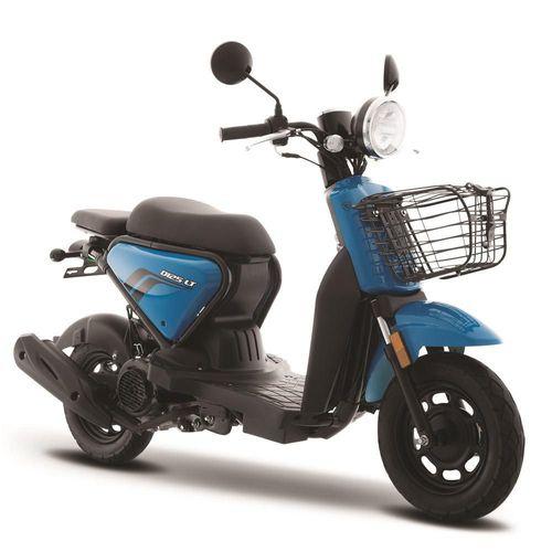 Motoneta Italika D125 LT Azul con Negro