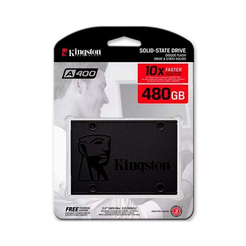 Disco Duro Ssd 480gb Estado Solido Kingston Sa400s37/480