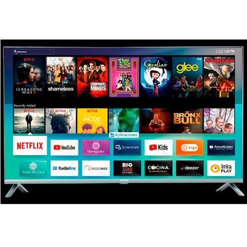 Smart TV 55 Hyundai USB HDMI Bluetooth HYLED5519N4KM