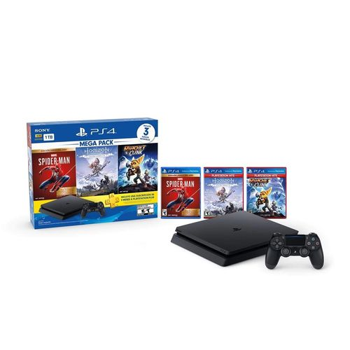 Playstation 4 Sony 1 tb 3 juegos control PS4-1TB PACK 15