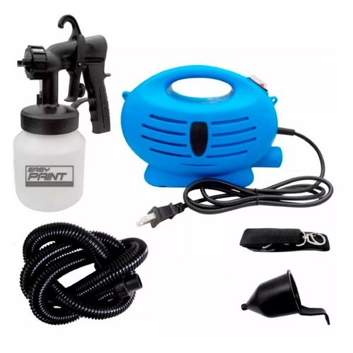 Compresora Portatil con Pistola para Pintar Easy Paint & Dry X9