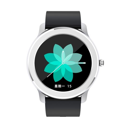Reloj inteligente impermeable con pantalla tactil - Zeta - Negro