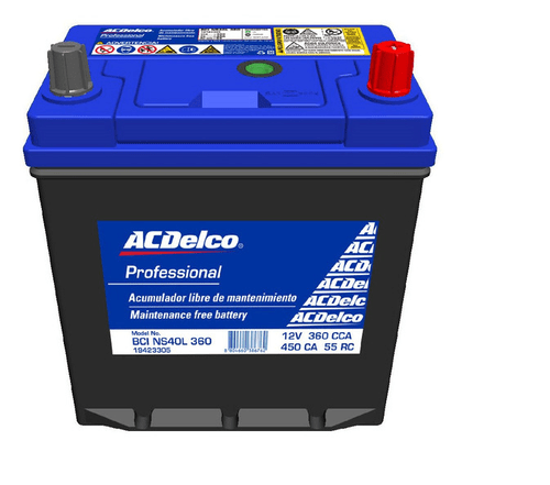Bateria ACDelco Matiz 2004-2015