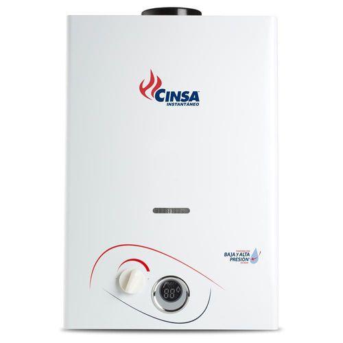 Boiler Instantáneo a Gas LP Cinsa CIN-06B