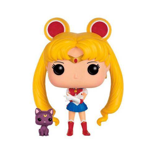 Figura Funko Pop! Animation: Sailor Moon w/ Luna
