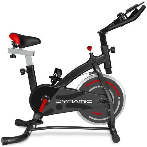 Bicicleta Fija Dynamic Negro con Rojo BW DY7804