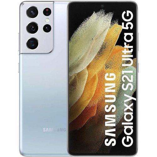 Samsung Galaxy S21 Ultra 256GB 5G Plata Fantasma